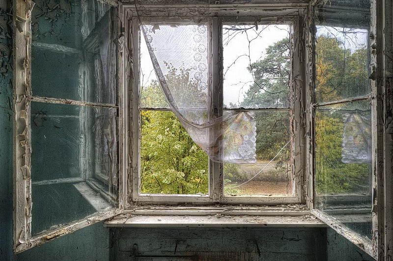 Morbide kunst radierung for Fenster 40x60