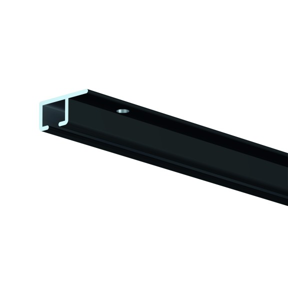 Top Rail black eloxed 200 cm