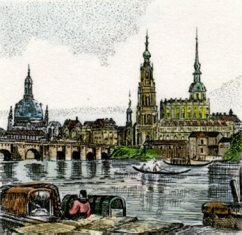 Dresden, Altstadtpanorama