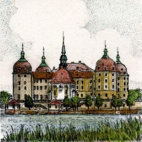 Dresden, Schloß Moritzburg