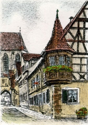 Rothenburg, Feuerleinserker