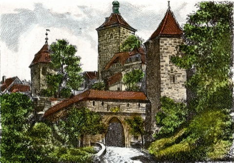 Rothenburg, Kobolzeller Tor