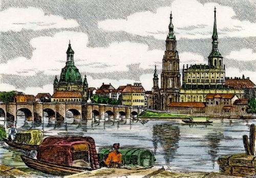 Dresden, Elbpanorama