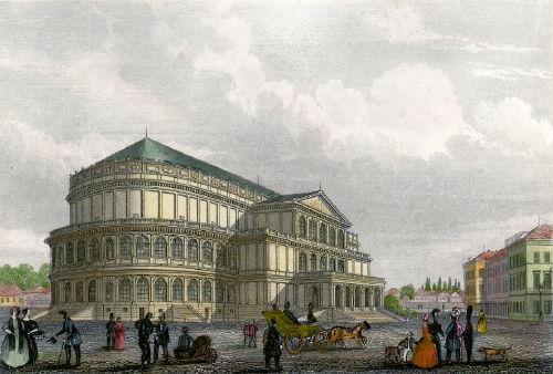 Dresden, das Neue Theater zu Dresden