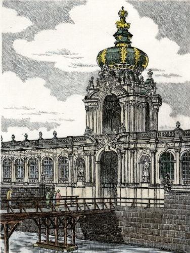 Dresden, Kronentor