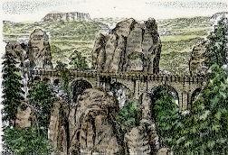 Dresden, Bateibrücke